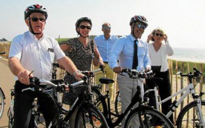 Atlantic Paysages: inauguration de la voie verte de la presqu'île de Quiberon