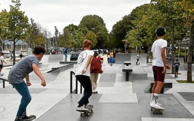 Réalisation du Skate Park de Vannes et de celui de la Baule