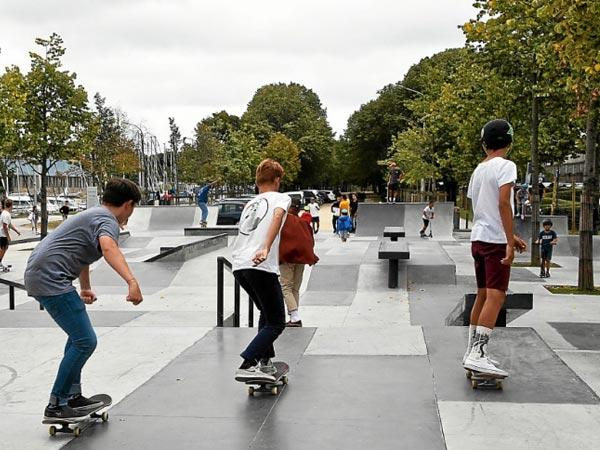 Skate park de vannes