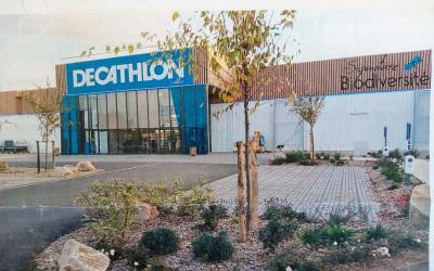 Aménagement éco-responsable du Decathlon de Lorient