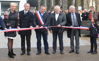 Inauguration du nouveau centre-bourg de Brandérion