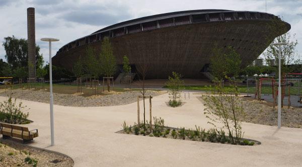 La plaine des Sports de Saint-Nazaire
