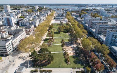 Miroir d'eau et Parc Jules Ferry de Lorient, réalisations récompensées par les Victoires du Paysage 2020