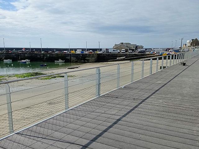 Aménagements des ports de Quiberon et de la gare d'Auray